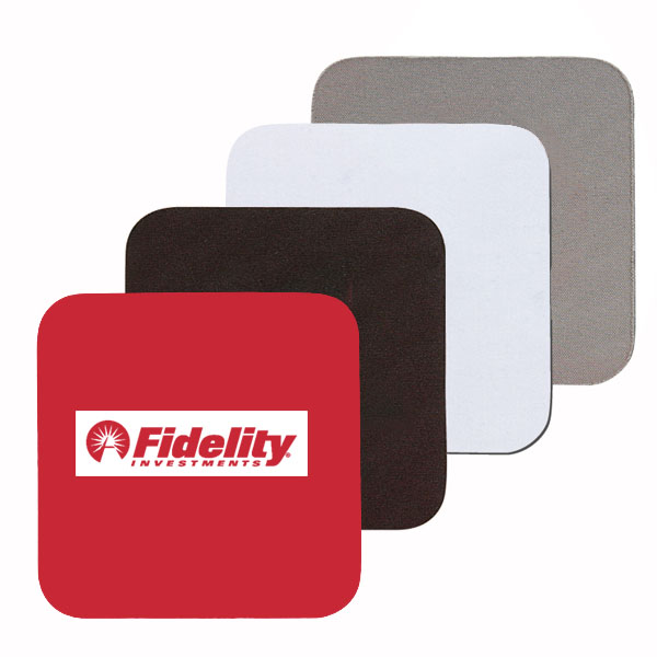 Square Soft Rubber & Neoprene Coaster