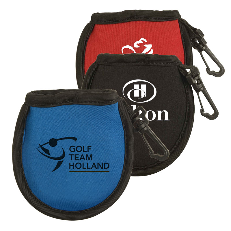 Golf Ball Cleaning Pouch with Clip