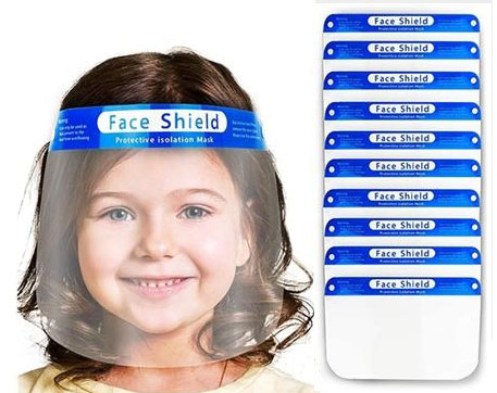 Youth Clear Protective Face Shield