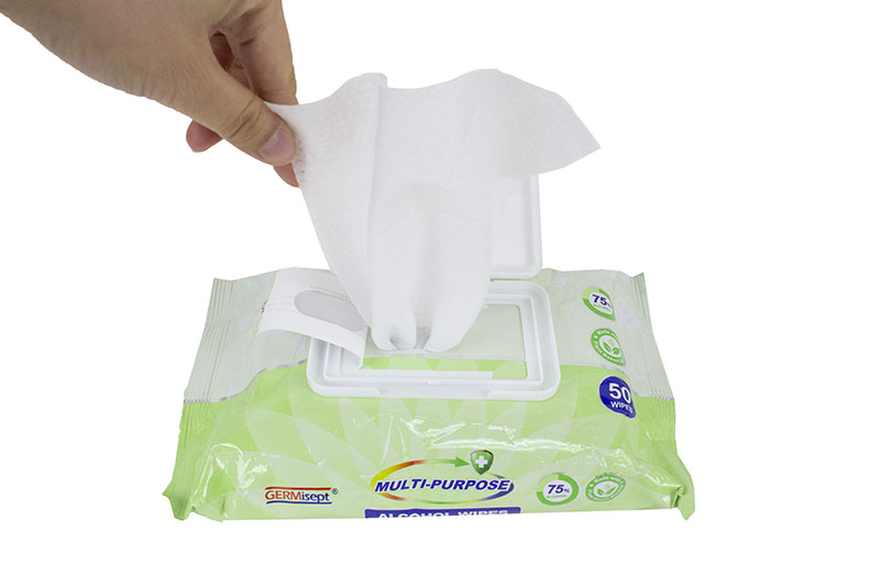 Anti Bacteria Alcohol Wipes (50 pcs)