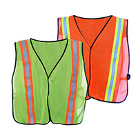 High Visibility Mesh Safety Vest