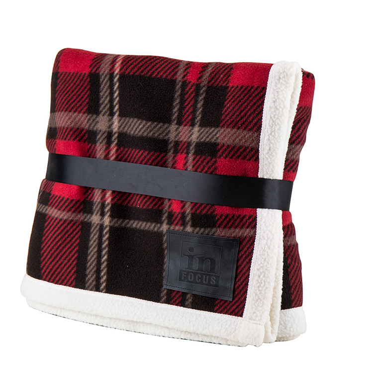 Plaid Top Blanket