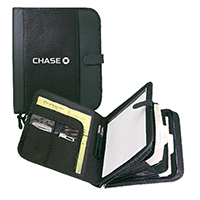 Zippered Padfolio with Dividers