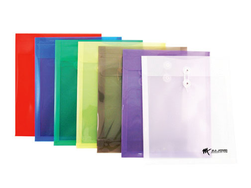 Letter Size Vertical Poly Envelope with String Closure