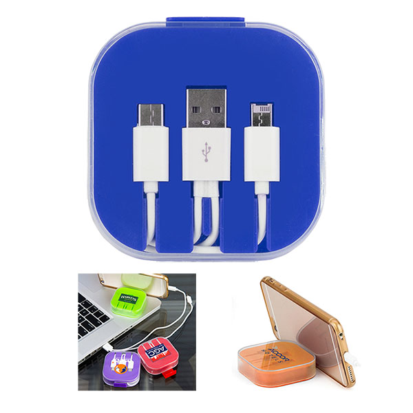 3-Piece Charging Cable Set