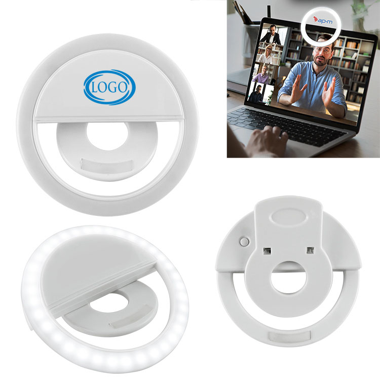 Video Call Light Ring with Clip