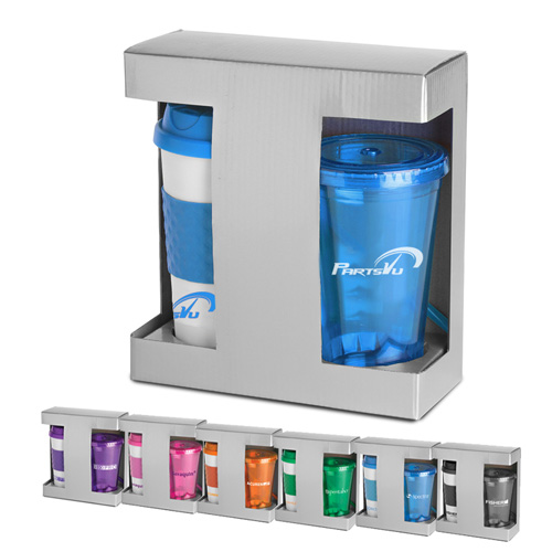 Cold/Hot Drinkware Gift Set