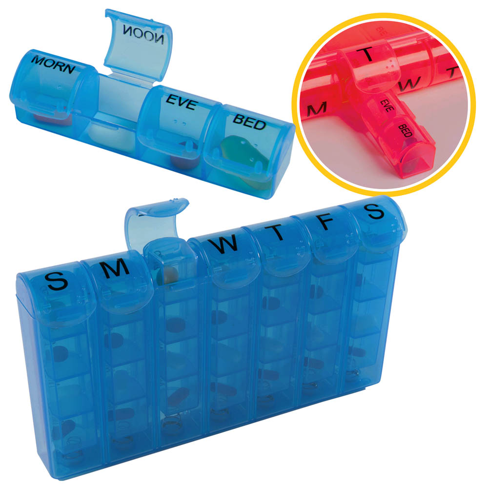 28 Compartment Medicine Case