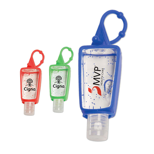 1 oz Anti-Bacterial Gel w/Loop Clip